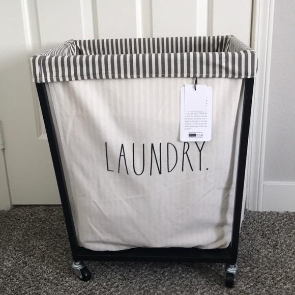 Rae Dunn Other - Rae Dunn laundry hamper